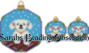 Poodle Snowglobe Set id 14251
