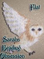 Barn Owl Flat Decoration id 3881