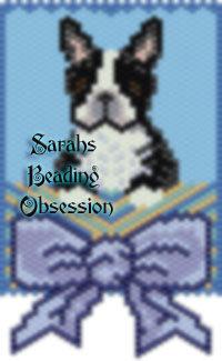 Black White Boston Terrier Gift Panel id 16583