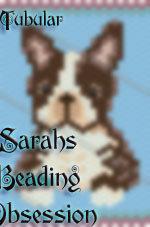 Brown Boston Terrier Tubular Pen Cover id 15151