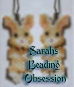 Buff Bunny Wiggle Earrings id 15959