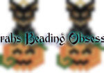 Mini Pinscher Black Tan Pumpkin Earrings id 14150