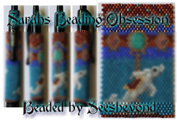 Carousel Dolphin Pen Cover id 16153