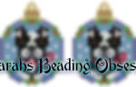Pitty Tuxedo Snowglobe Earrings id 13921