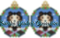 Sheltie Tri-Color Snowglobe Earrings id 14684