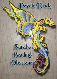 Semi 3D Butterfly Dragon Decoration Pey id 4202