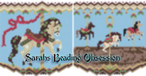 Carousel Christmas Horse Pouch id 15816