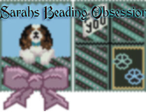 King Charles Spaniel Tri-Color Gift Pouch id 15286