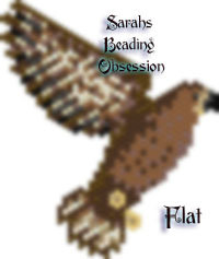 Golden Eagle Flat Decoration Redesign id 16643