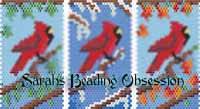 Seasons Cardinal Pen Covers id 16484