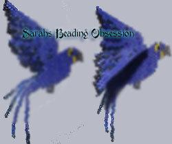Hyacinth Macaw Semi 3d Decoration id 10090