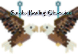 Bald Eagle Earrings Redesign id 16641