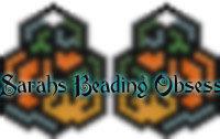 Pumpkin Maze Earrings id 11353