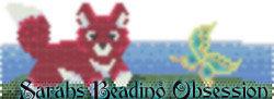 Red Fox Pounce Tea-light id 16109