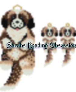St Bernard Pup Wiggle Set id 15605