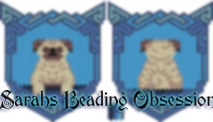 Pug Wags Pouch id 15339