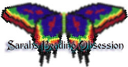 Blue Psychedelic Butterfly Barrette Pey id 4568