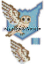 Tawny Owl Winged Pendant id 15314