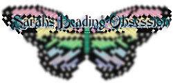 Black Pearl Monarch Butterfly Barrette lmsq id 3045