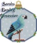 Spix Macaw Female Ornament id 16420