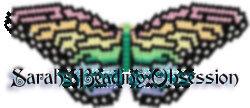 Black Pearl Monarch Butterfly Barrette Pey id 4566