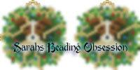 Jack Russell Wreath Earrings id 16816