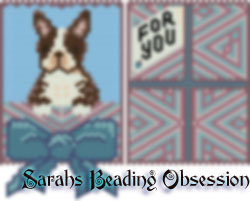 Brown Boston Terrier Gift Pouch id 16620