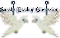 Goffins Cockatoo Earrings id 14182