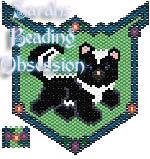 Baby Skunk Trot Pendant id 9647