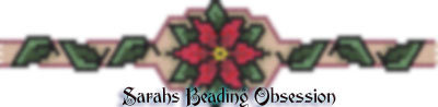 Red Poinsettia Bracelet id 10751