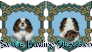 King Charles Spaniel Tri-Color Wags Pouch id 15289