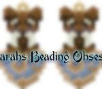 Schnauzer Liver Love Earrings id 14646