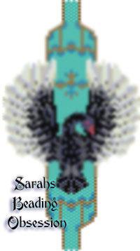 Black Swan Hugs Bracelet id 15418
