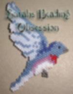 BlueBird Flat Decoration  id 3199
