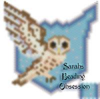 Tawny Owl Flat Pendant id 15316
