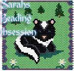 Baby Skunk Nap Panel id 9686