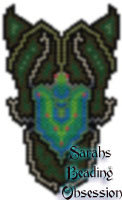 Emerald Beetle Pendant id 14235