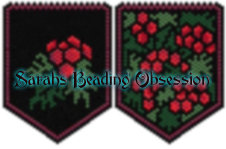 Holly Berries Mini Pouch id 12970