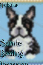 Black White Boston Terrier Tubular Pen Cover id 15150