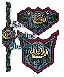 Yellow Rose Maze Set id 11194