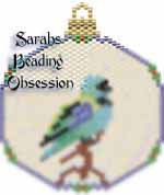 Green-Headed Tanager Ornament id 16481