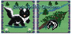 Baby Skunk Trot Pouch id 10149