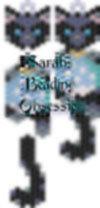 Midnight Snow globe Wiggle Earrings id 15644