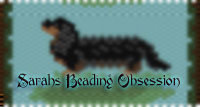 BlackTan Long hair Dachshund Pen Cover id 16818