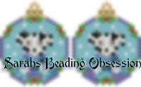 Dalmatian Snowglobe Earrings id 14773
