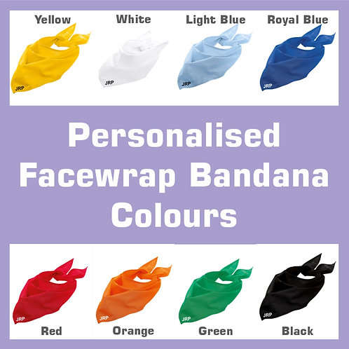 Facewrap Bandana Personalised
