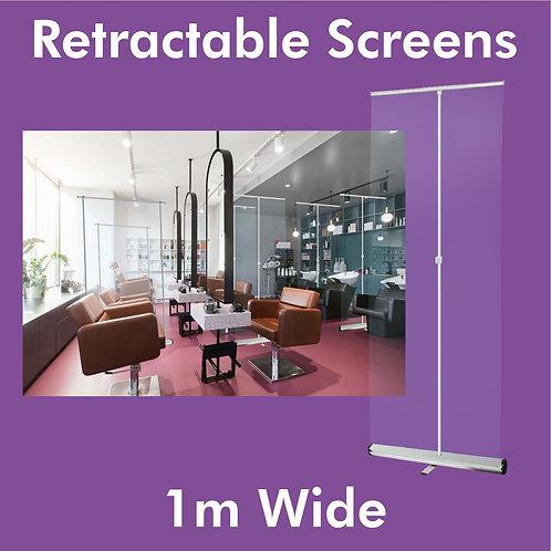 1m Clear Screen
