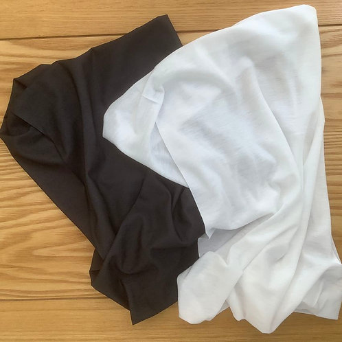 SNOOD Twin Pack Charcoal & White