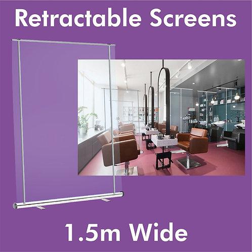 1.5m Clear Screen