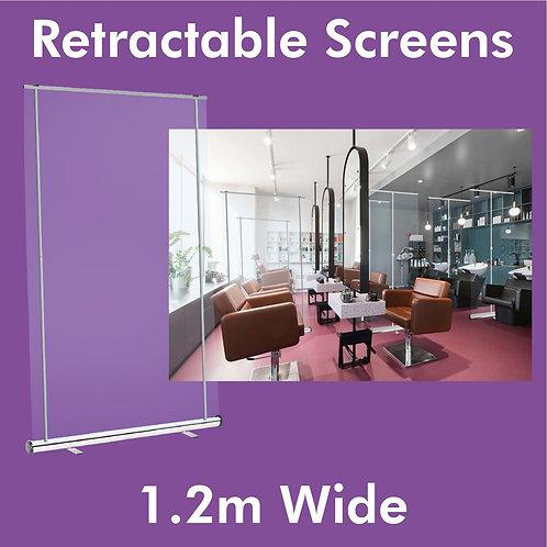 1.2m Clear Screen